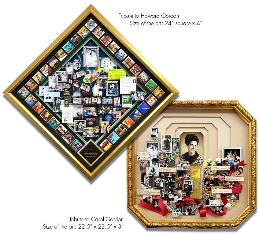 Howard and Carol Gordon Tribute Art