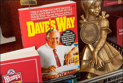 "Closeup of ""Dave's Way"" from the commemorative artwork"