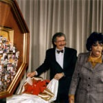 KingWorld Productions presented this artwork to Oprah Winfrey as a Christmas gift. The large collage celebrates her story from childhood to the success of The Oprah Winfrey Show. The unveiling of the gift was a fantastic surprise.