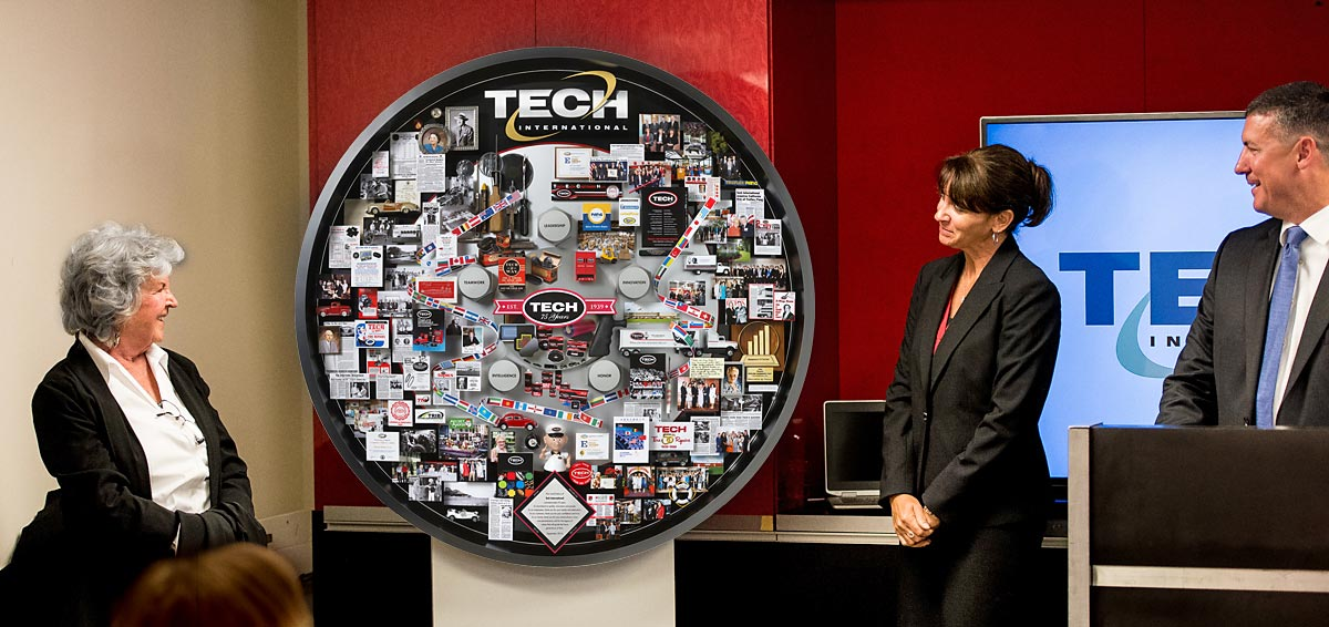 Tech International 75th Anniversary Art Unveil