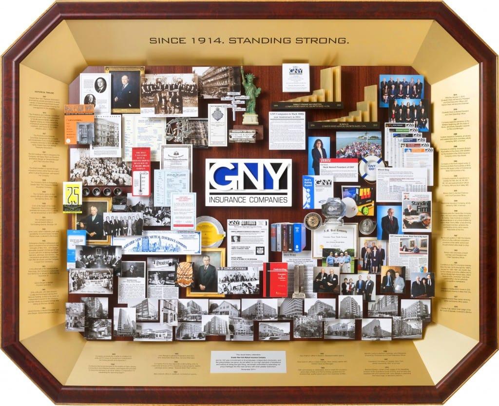 GNY Insurance Centennial Art