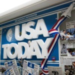 USA Today Art Installation | One of a Kind Art