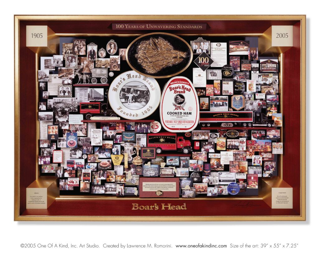Boar's Head Centennial Collage